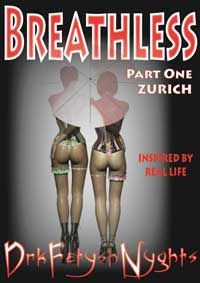 cover design for the book entitled BREATHLESS Part One - Zurich