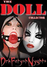 cover design for the book entitled THE DOLL COLLECTOR