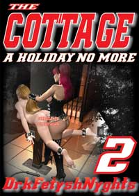 cover design for the book entitled THE COTTAGE 2