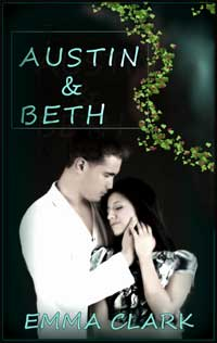 cover design for the book entitled Austin and Beth