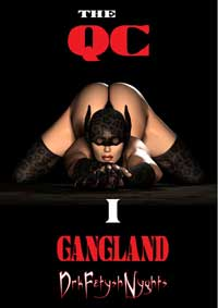 cover design for the book entitled THE QC - Part One GANGLAND