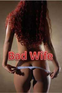 cover design for the book entitled Bad Wife