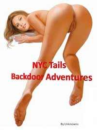 cover design for the book entitled NYC Tails: Backdoor Adventures