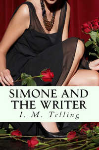 cover design for the book entitled Simone and the Writer