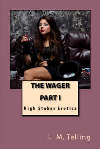 cover design for the book entitled The Wager