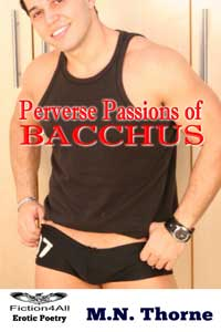 cover design for the book entitled Perverse Passions of Bacchus