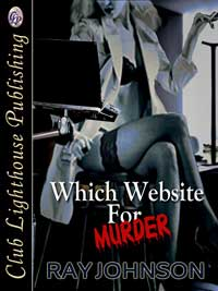 cover design for the book entitled Which Website For Murder