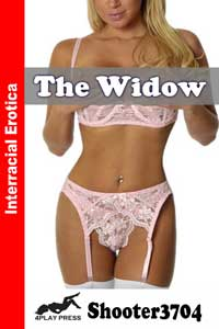 cover design for the book entitled The Widow