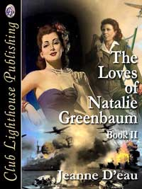 cover design for the book entitled The Loves of Natalie Greenbaum Book II