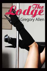 cover design for the book entitled The Lodge