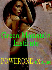 cover design for the book entitled Green Mountain Institute