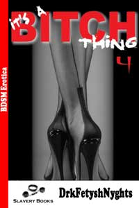 cover design for the book entitled ITS A BITCH THING - Part 4