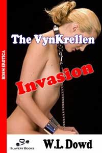 cover design for the book entitled The VynKrellen Invasion