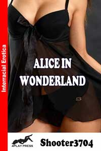 cover design for the book entitled Alice In Wonderland