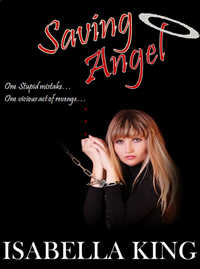 cover design for the book entitled Saving Angel