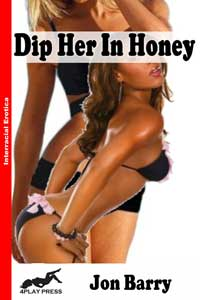 cover design for the book entitled Dip Her in Honey