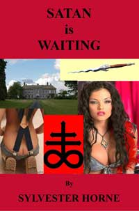 cover design for the book entitled SATAN is WAITING