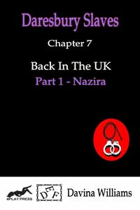 cover design for the book entitled Back In The UK - Part 1