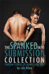 cover design for the book entitled The Spanked Into Submission Collection