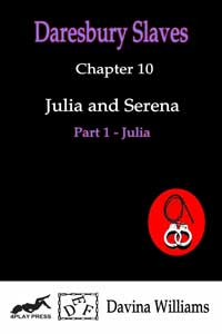 cover design for the book entitled Julia and Serena - Part 1