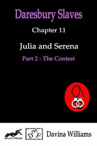 cover design for the book entitled Julia and Serena - Part 2