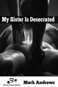 cover design for the book entitled My Sister Is Desecrated