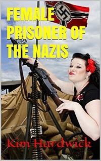 cover design for the book entitled FEMALE PRISONER OF THE NAZIS