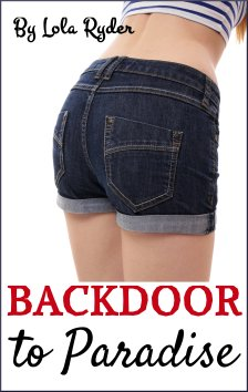 cover design for the book entitled Backdoor to Paradise