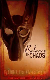 cover design for the book entitled Balance in Chaos