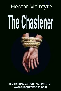 cover design for the book entitled The Chastener