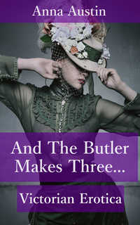 cover design for the book entitled And The Butler Makes Three