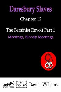 cover design for the book entitled The Feminist Revolt Part One