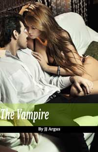 cover design for the book entitled The Vampire