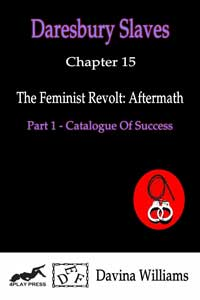 cover design for the book entitled The Feminist Revolt - Aftermath I