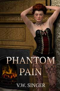 cover design for the book entitled Phantom Pain