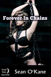 cover design for the book entitled Forever In Chains