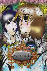 cover design for the book entitled Pride and Prejudice(Yaoi Novel)