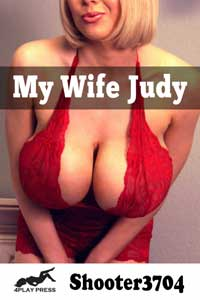 cover design for the book entitled My Wife Judy
