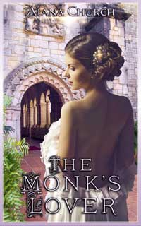 cover design for the book entitled The Monk