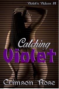 cover design for the book entitled Catching Violet
