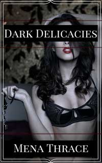 cover design for the book entitled Dark Delicacies