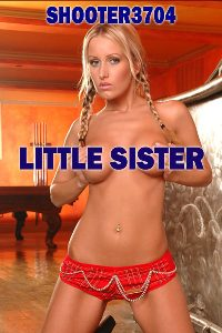 cover design for the book entitled Little Sister