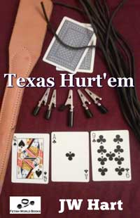 cover design for the book entitled TEXAS HURT